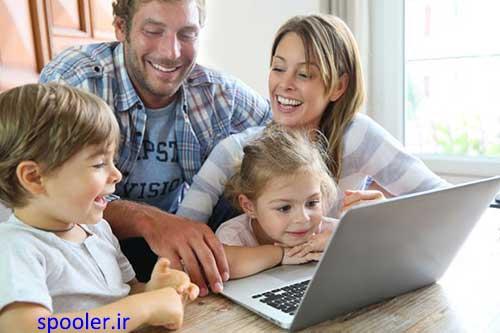 پرورش کودک، اینترنت و آنلاین شدن